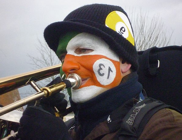 Trombone Carnival Festival Brass Band Human Humano