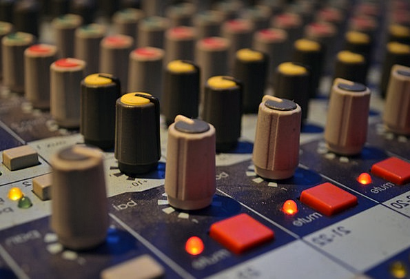 Audio Acoustic Music Studio Mixing Board Board Aud