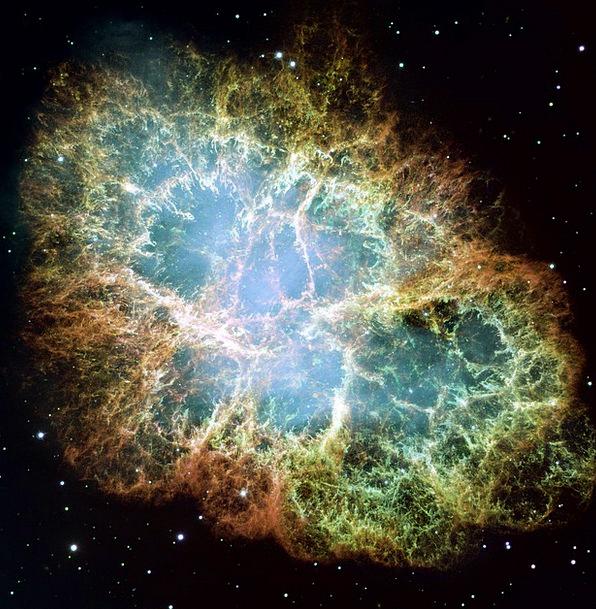 Crab Nebula Supernova Supernova Remnant Space Puls