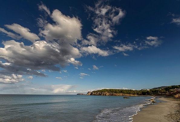 Clouds Vapors Landscapes Nature Blue Azure Sky Nat