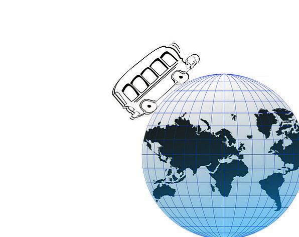 Globe Sphere Vacation Universal Travel Trip Around