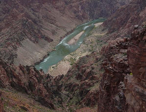 Grand Canyon Colorado River Colorado Away Water Aq