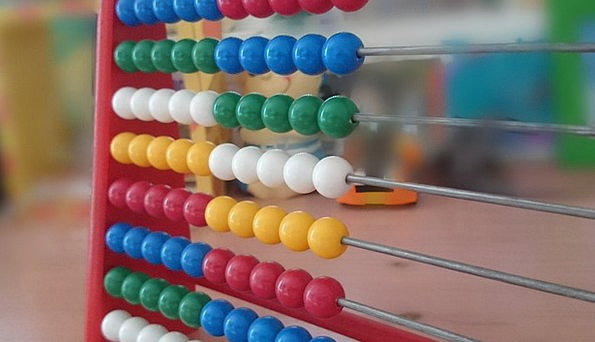 Abacus Wooden Balls Computational Aids Mathematics