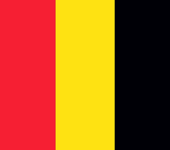 Belgium Standard National Nationwide Flag Country