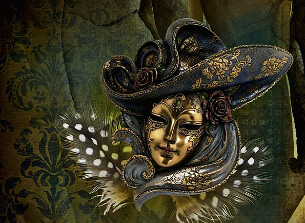 Carneval Textures Backgrounds Mask Cover Venetian