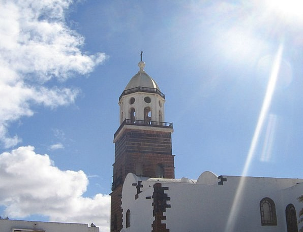 Spain Church Ecclesiastical Lanzarote Places Of In