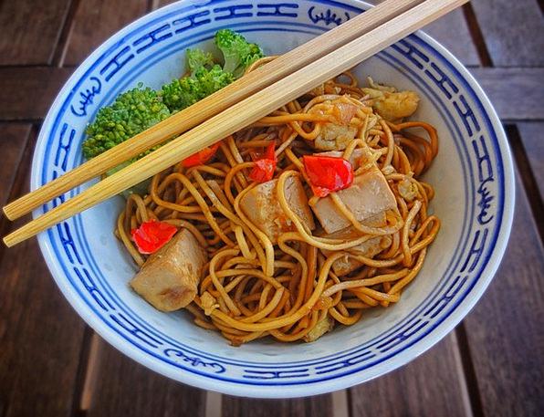 Food Nourishment Drink Banquet Asia Dinner Noodles