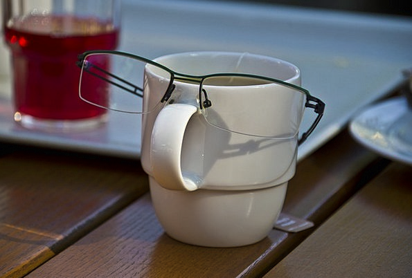 Glasses Spectacles Mug Face Expression Cup