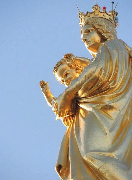 Mary Good Parent Jesus Marseille