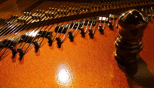 Piano Strings Cords Piano Keyboard Strings Music M