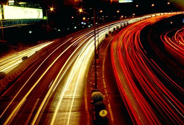 Road Traffic Circulation Transportation Lights Ill
