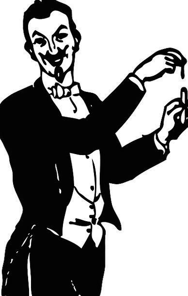 Magician Conjurer Enchanted Performer Player Magic