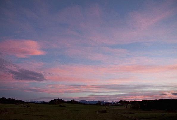 Morgenrot Landscapes Nature Cloud Mood Hair Dryer