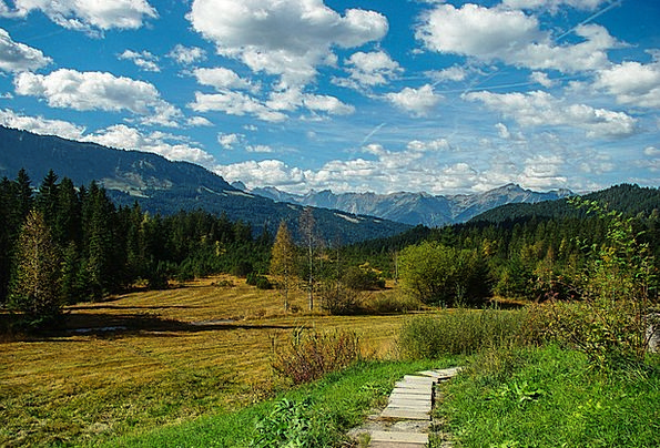 Landscape Scenery Landscapes Nature Mountains Crag
