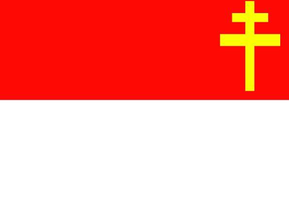 Alsace-Lorraine Standard Imperial Territory Flag A