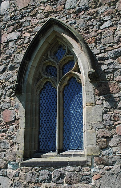 Window Gap Ecclesiastical Religion Church Wall Chr