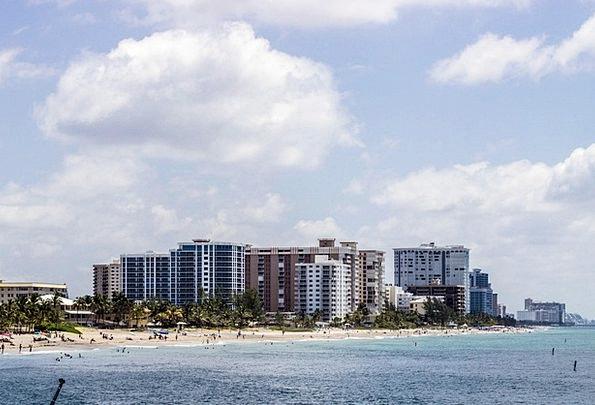 Beach Seashore Vacation Travel Miami Florida Sea O
