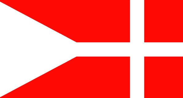 Denmark Standard National Nationwide Flag Country