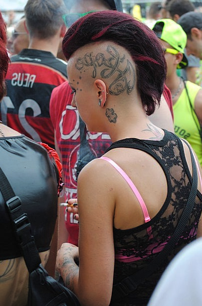 Punk Inferior Fashion Beauty Zurich Street Parade