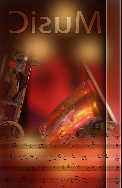 Creative Original Melody Treble Clef Music Instrum