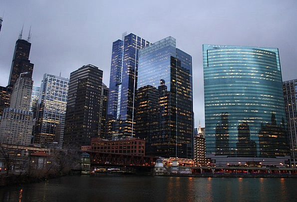 Skyline Horizon Buildings Architecture City Urban