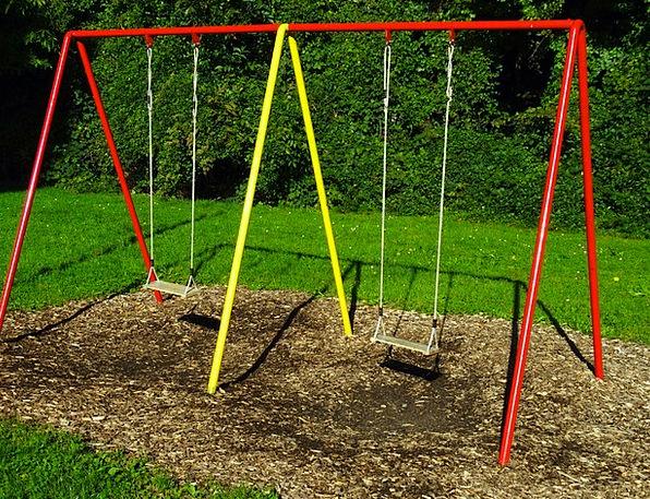 Swing Swipe Swing Seat Children'S Playground Rope