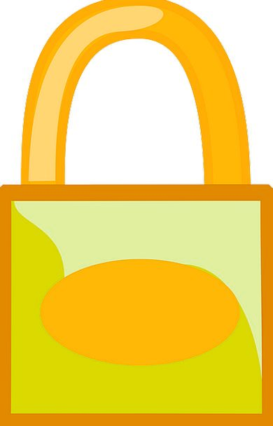 Padlock Security Lock Safety Care Free Vector Grap