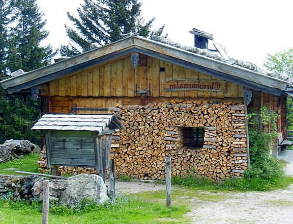 Roßfeld Bavaria Berchtesgaden Mountains Crags 1 55