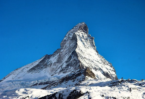 Matterhorn Landscapes Crag Nature Mountaineering C