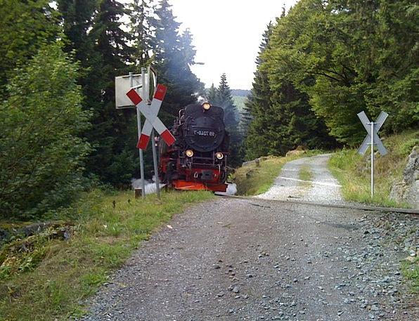 Resin Mastic Crossroads Junction Narrow Gauge Trai