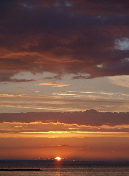 Sunset Sundown Vacation Marine Travel Evening Sky