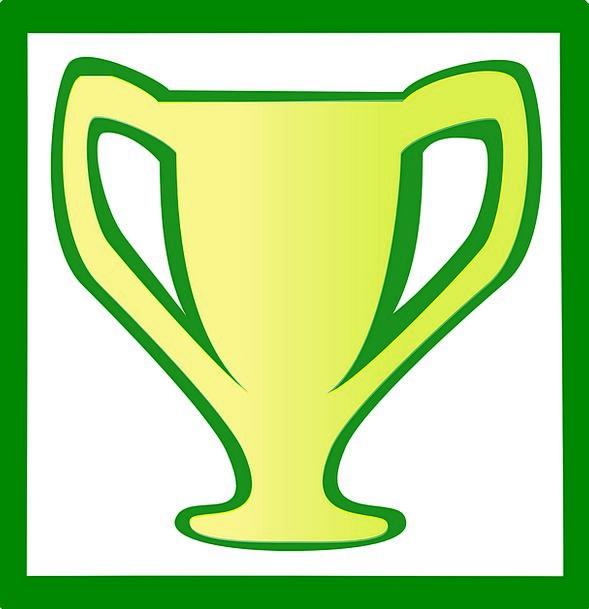 Trophy Mug Reward Cup Success Green Lime Prize Yel