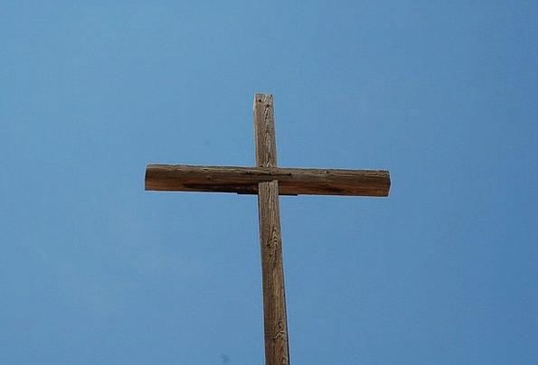 Cross Irritated Adoration Christian Worship Spirit
