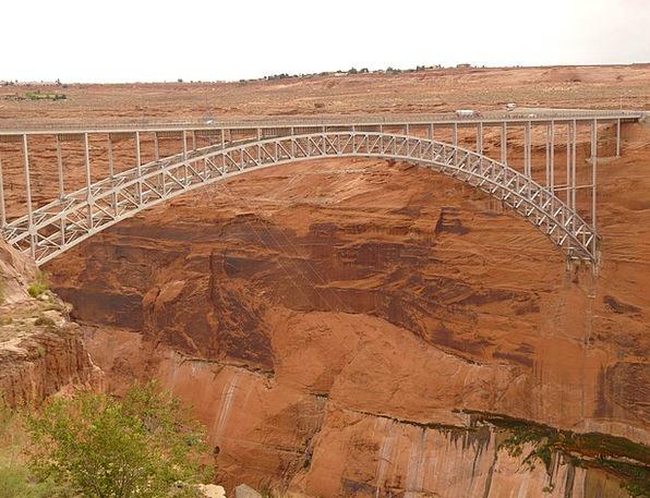 Glen Canyon Bridge Bond Steel Arch Bridge Bridge A