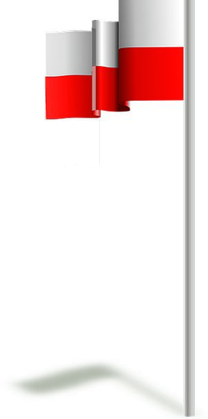 Poland Standard Polish Refinement Flag Country Rep