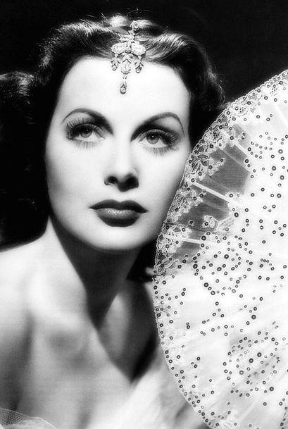 Hedy Lamarr Fashion Performer Beauty Movie Star Fa
