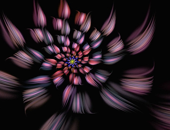Spiral Twisting Textures Floret Backgrounds Fracta