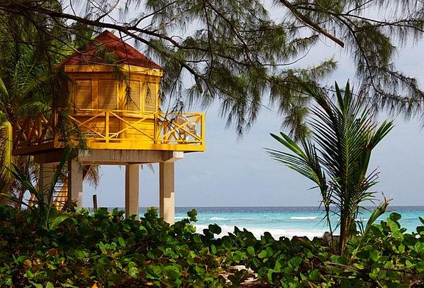 Lifeguard Lifesaver Vacation Seashore Travel Tower