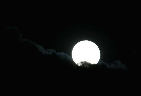 Moon Romanticize Bright Cheerful Full Moon Light R