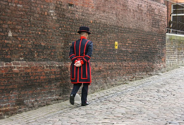 Beefeater Guard Protector Tower Of London