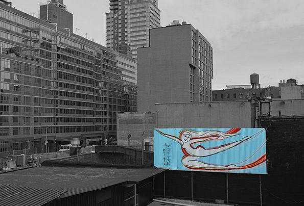 Graffiti Drawings New York City Big City Facade Pa
