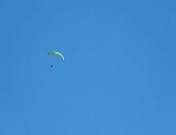 Paraglider Fly Hover Paragliding Screen Shade Adve