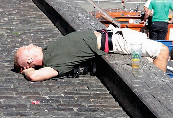 Men'S Gentlemen's Slumber Quay Dock Sleep Copenhag
