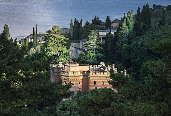 Villa Cabin Landscapes Fortress Nature Dream Home