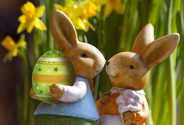 Easter Bunny Taxes Custom Tradition Customs Green