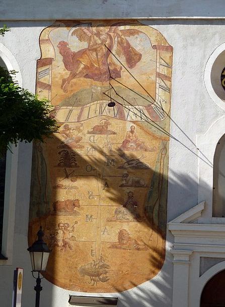 Sun Dial Sundial Sun-Dial Religion Solar Clock Ger