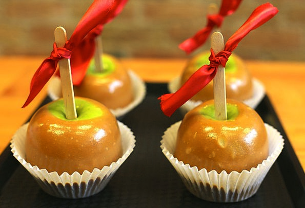 Caramel Honey Drink Food Candy Bonbon Apple Glazed