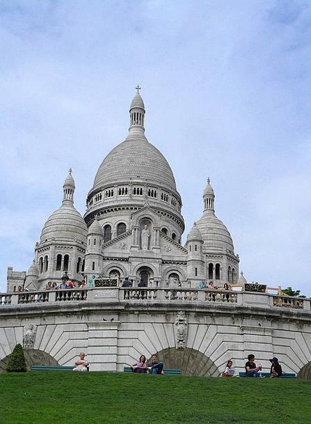 Sacre Coeur Paris France Architecture Temple Shrin