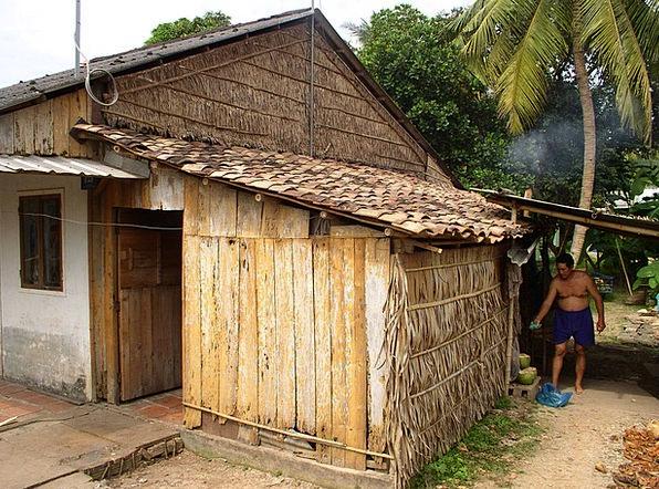 Slum Shantytown Landscapes Shed Nature Poor Depriv