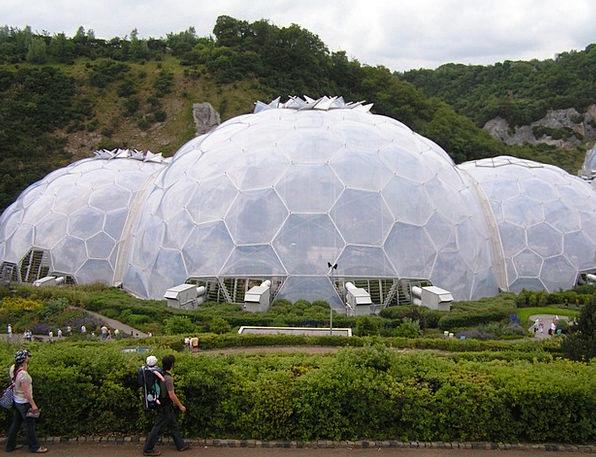 Eden Project England Cornwall Garden Exhibition Gr